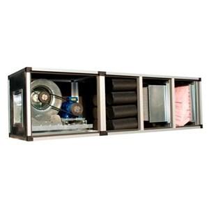 Gruppo di filtrazione e deodorizzazione - Pannelli in lamiera zincata 8/10 - Filtro a cella metallica lavabile G2 o filtro a panno G4