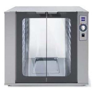LIEVITATORE - MOD. 84P - Capacità teglie n.8 cm 40 x 60 - Potenza Kw 1,5 - Alimentazione monofase 230V/1/50Hz - Dimensioni esterne cm. L 76 x P 93,5 x 90 h - Norma CE