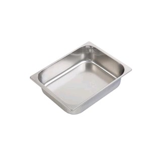 Vasca inox per gelato mm 330x250 (interno mm 300x235)