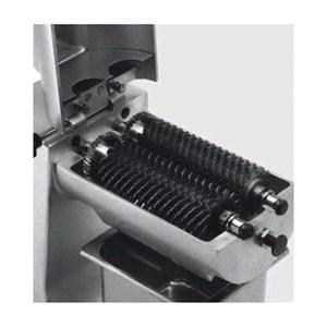 INTENERITRICE PER CARNE - Mod. INT/M - Acciaio inox - Capacità di taglio 150x20 mm - Spessore massimo 20 mm - Monofase - Norma CE