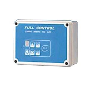 Regolatore digitale di velocità con interruttore luce e valvola gas - Lunghezza cm 15,8 - Profondità cm 7,7 - Altezza cm 11,7