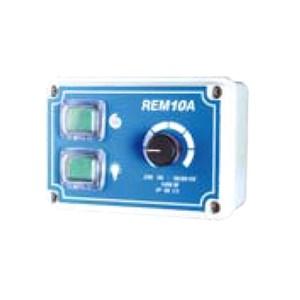 Regolatore elettronico manuale di velocità con interruttore luce - Lunghezza cm 13 - Profondità cm 6 - Altezza cm 8,5