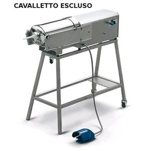 INSACCATRICE IDRAULICA ORIZZONTALE - MOD. 122312 - Capacità cilindro Lt 16 - Diametro Cilindro cm. Ø 20 - Lunghezza cilindro cm. 50 - Alimentazione TRIFASE 230-400/50/3 - Norma CE