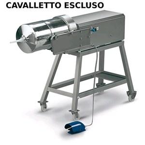 INSACCATRICE IDRAULICA ORIZZONTALE - MOD. 122513 - Capacità cilindro Lt 50 - Diametro Cilindro cm. Ø 32 - Lunghezza cilindro cm. 60 - Alimentazione MONOFASE 230/50/1 - Norma CE