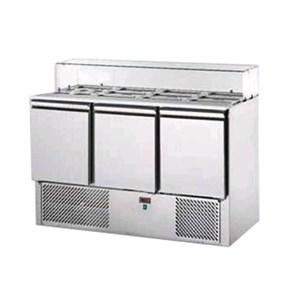 Saladette refrigerata in acciaio inox Tecnodom TM03WE