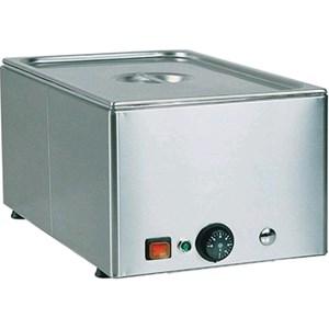 TAVOLA CALDA BAGNOMARIA DA BANCO - MOD. BMA - Struttura in acciaio inox - Termostato regolabile 0°  90°C  - Temperature differenziate - Alimentazione V230 50/60
