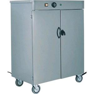 MOBILETTO SCALDAPIATTI - MOD. MS - Struttura in acciaio inox AISI 304 - Termostato regolabile +30°/+90°C - N. 1 ripiano intermedio - Alimentazione 230V/1/50-60Hz