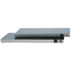 PIANO CALDO - MOD. PC - Struttura in acciaio inox - Termostato regolabile 0° 90°C - Alimentazione V230 50/60 Hz