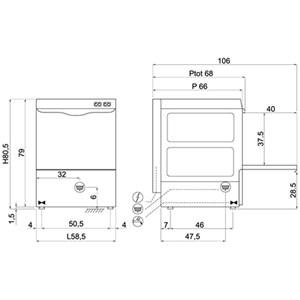 Lavastoviglie meccanica Compack 50I37