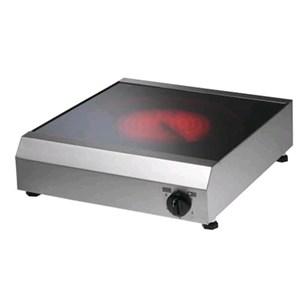 PIANO COTTURA ELETTRICO - MOD. QD512 - PIANO IN VETROCERAMICA - POTENZA W 3400 - ALIMENTAZIONE V230/50-60Hz MONOFASE - DIM. Cm L 37 x P 44 x h 11 - NORMA CE