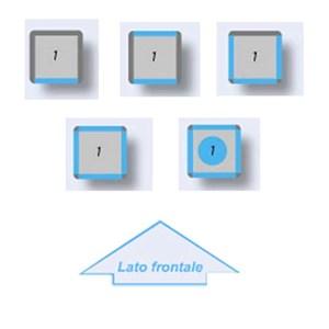 VETRINA REFRIGERATA PER PASTICCERIA E GELATERIA - MOD. TEK/16 - STRUTTURA ESTERNA IN ALLUMINIO ANODIZZATO - VETRO BASSO EMISSIVO - ALIMENTAZIONE MONOFASE - REFRIGERAZIONE STATICA - TEMP. °C -15/-25 - VETRO ESPOSITIVO A SCELTA SU 1, 2 ,3 o 4 LATI - DIM. CM L 67 X P 64 X h 191