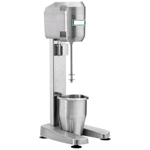 FRULLATORE FRAPPE' mod. DMB - N.1 Bicchiere INOX  Lt 0,8 - Potenza 400 W - 230V monofase - 50-60 Hz - Norma CE