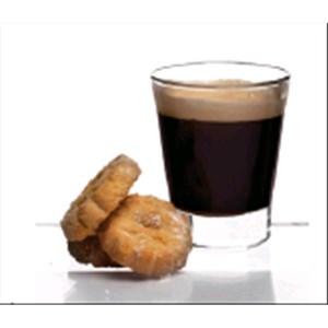 Bicchiere - BORMIOLI ROCCO Linea CAFFEINO- Codice 1.20202 - Capacità 8,5 cl  - 2  3/4 oz - Diametro mm 59 - Altezza mm 71 - Imballo confezione da n. 48 Unità