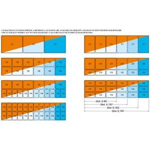 VASCA ESPOSITIVA DA INCASSO RISCALDATA BAGNOMARIA CON VASCHETTE GN - MOD. ARMONIA BM - PER GASTRONOMIA - TEMPERATURA °C +30/+90 - BACINELLE COMPATIBILI GN 1/4, 1/3, 1/2, 2/3, 1/1, 2/1 - SOLO BACINELLE DA cm 15 DI ALTEZZA