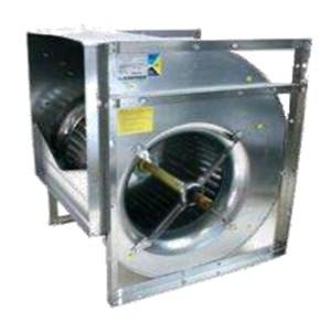 Ventilatori centrifughi per trasmissione - A doppia aspirazione - Struttura portante in profili estrusi di alluminio ossidato P40