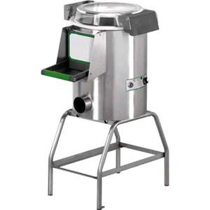PELAPATATE Mod. PPF5 - Capacità carico kg 5 - Produzione oraria kg/h 60 - (Dotato di un piattello patate e cavalletto mod. CI ) - ALIMENTAZIONE MONOFASE o TRIFASE - Potenza hp 0,5 / 370W - Norma CE