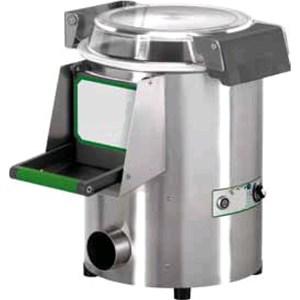LAVACOZZE Mod. LCN5 (da banco) - Capacità carico kg 3-5 - Produzione oraria kg/h 60 - (Dotato di un piattello cozze) - ALIMENTAZIONE MONOFASE o TRIFASE - Potenza hp 0,35 / 260W - Norma CE