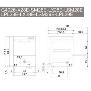 Lavabicchieri elettronica Compack 28AL