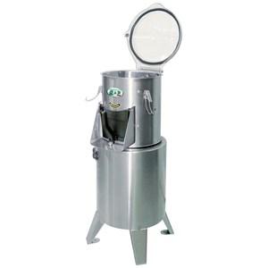 PELAPATATE - Mod. PL4 - Capacità di carico kg 4 - Produzione oraria Kg/h 120 - Potenza hp 0,6 - Kw 0,26 - Alimentazione Trifase o Monofase - Norma CE