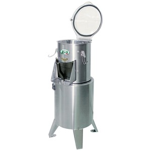PELAPATATE - Mod. PL20 - Capacità di carico kg 20 - Produzione oraria Kg/h 550 - Potenza hp 1 - Kw 0,75 - Alimentazione Trifase o Monofase - Norma CE