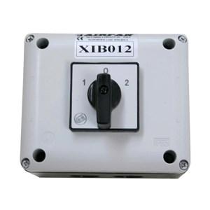 Commutatore 2 velocità - Fino a 16 ampere - Dim. cm L 11 x P 11 x H 17