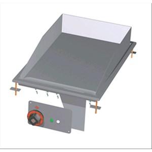 FRY TOP ELETTRICO PIASTRA LISCIA CROMATA DA INCASSO - MOD. FTLD-64ETS - Alimentazione trifase 400V/3N 230V/3 - Potenza kW 4,5 - Dimensioni: cm. L 40 x P 60 x H 22 - Norma CE