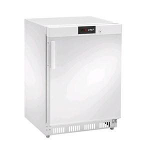 Armadio frigorifero in acciaio verniciato bianco - Mod. AKD200F - Statico - Display DIGITALE - Capacità lt 140 - N.1 porta - TEMPERATURA -18ºC - Dimensioni cm L 60 x P 60 x 85,5 H - Peso Kg 45