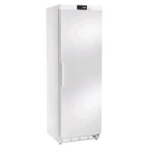 Armadio frigorifero in acciaio verniciato bianco - Mod. AKD400F - Statico - Display DIGITALE - Capacità lt 360 - N.1 porta - TEMPERATURA -18ºC - Dimensioni cm L 60 x P 60 x 185,5 H - Peso Kg 74