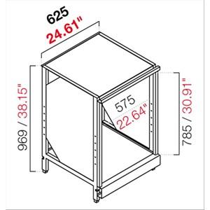 RETROBANCO BAR NEUTRO- SEMILAVORATO DA PANNELLARE - MOD. RBL625LAVATAZZE - STRUTTURA IN METALLO - PER LAVATAZZE - DISPONIBILE IN 2 PROFONDITA': cm 55, 63 - DIM Cm L 62,5 X H 96,9