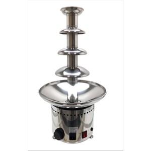 FONTANA PROFESSIONALE PER CIOCCOLATO - Mod. F6N - Struttura acciaio inox - Capacità Kg 2,5 - Potenza W 265 - Alimentazione monofase - Dimensioni cm  ø 33 x 60h - Norma CE