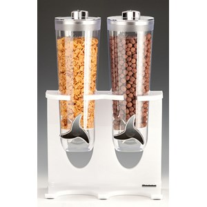 Dispenser cereali in policarbonato - MEDRI Linea - Codice zcp738-2 - Dimensioni cm 28x17 - Altezza cm 44 - Imballo confezione da n. 1 Unità