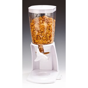 Dispenser cereali in policarbonato - MEDRI Linea - Codice hwp-7e - Capacità 3 lt  - Dimensioni cm 16x20 - Altezza cm 40 - Imballo confezione da n. 1 Unità