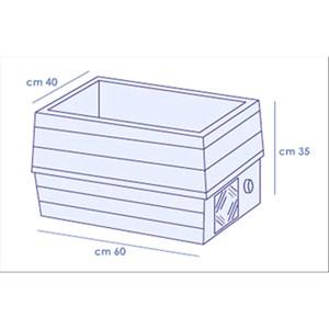 ESPOSITORE VETRINA REFRIGERATA DA TAVOLO - Mod. GASTRO - Temperatura +2°/+10°C - Capacità vaschette GN vari formati - Alimentazione MONOFASE V230/1 - Potenza kW 0,13 - Dimensioni cm. L 60 x P 40 x h 37 - Peso Kg. 18