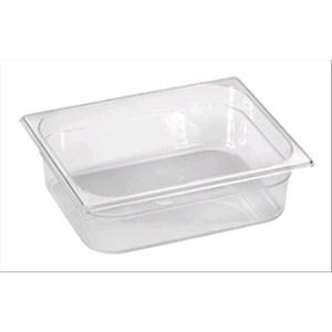Vasca policarbonato - gelateria - trasparente - Dimensioni cm 36x25 (interno mm 332x227) - Altezza cm 8 - Lt 5,4