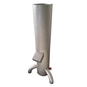Macinapane - MOD. GRI131 - Struttura in acciaio inox - Setaccio singolo - N. 1 granulometria da 3 mm - Produzione max. 150 kg/h