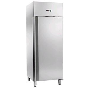 Armadio frigo in acciaio inox Allforfood modello EL700TN