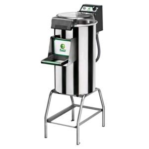 PELAPATATE Mod. PPF18 - Capacità carico kg 18 - Produzione oraria kg/h 220 - (Dotato di un piattello patate e cavalletto mod. CI ) - ALIMENTAZIONE MONOFASE o TRIFASE - Potenza hp 1,5 / 1100W - Norma CE
