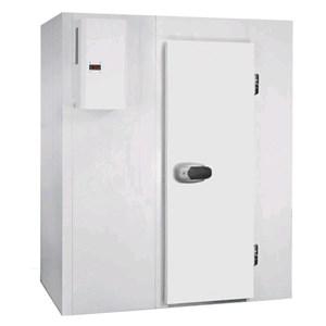 Cella frigorifera modulare - Spessore pannello cm  7 - Con pavimento - H 214 - Con n. 1 porta di cm 80 x h 185 - Motore escluso