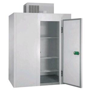 Cella frigorifera modulare - Spessore pannello cm  7 - Senza pavimento - H 287 - Con n. 1 porta di cm 80 x h 185 - Motore escluso