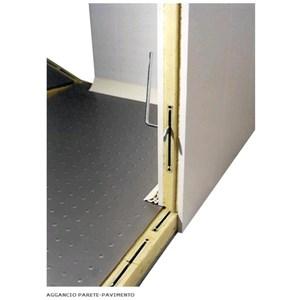 Cella frigorifera modulare - Spessore pannello cm  7 - Con pavimento - H 254 - Con n. 1 porta di cm 80 x h 185 - Motore escluso