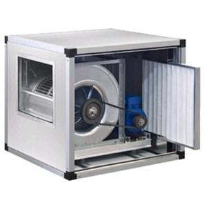 Aspiratori cassonati per immissione aria a doppia aspirazione con trasmissione a cinghia e puleggia 1 velocità