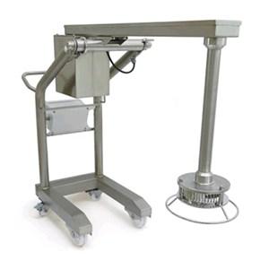TURBO-FRANTUMATORE - Mod. TRX-21 - Struttura in acciaio inox 18/10 - 1 velocità - Capacità max recipiente lt 800 - Alimentazione trifase 400V/3/50Hz - Potenza W 2200 - Dimensioni cm L 56,8 x P 164,3 x 121,9 h