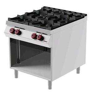 Cucina a gas 4 fuochi Desco FA092M0 linea BOHEME