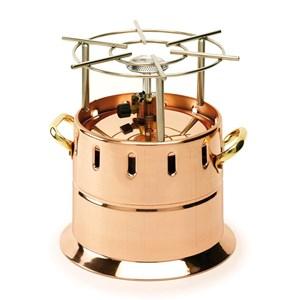 Flambeau gas in rame - AGNELLI Linea  - Imballo confezione da n. 1 Unità