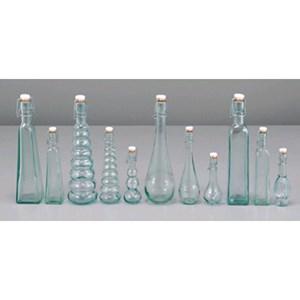 Bottiglia mini - SAN MIGUEL Linea FRAGOLA- Codice 5308 - Capacità 12,5 cl  - Altezza mm 190 - Imballo confezione da n. 1 Unità