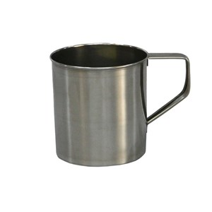 Mug in inox - MEDRI Linea  - Diametro cm 10 - Imballo confezione da n. 1 Unità
