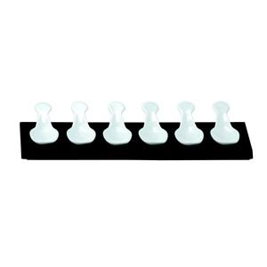C/6 cucchiai appetizer con supporto legno - MEDRI Linea - Codice 3268-6h - Dimensioni cm 32x11 - Imballo confezione da n. 1 Unità