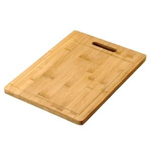 Tagliere rettangolare in bamboo - MEDRI Linea - Codice mb3280-24 - Dimensioni cm 38x24  - Imballo confezione da n. 1 Unità
