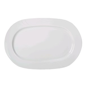Piatto ovale - KUTAHYA Linea DIDIM - Dimensioni cm 28 - Imballo confezione da n. 12 Unità