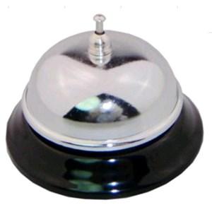 Campanello in inox - MEDRI Linea - Codice tb-35 - Imballo confezione da n. 1 Unità